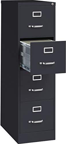 Amazing Offer On Lorell 4 Drawer Vertical File Lock 15 25 52 Inch Black Online Aristatopshop In 2020 Filing Cabinet Cabinet Drawers