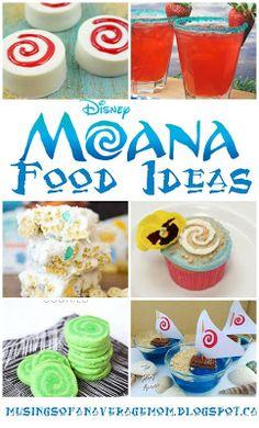 10 Moana party treats and food ideas