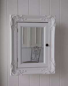 Photo of White Bathroom Wall Cabinet Wyndenhall Hayes Single Door In