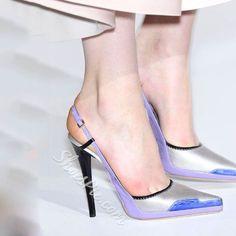 Shoespie Fresh Style Backless Stiletto Heels