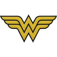 DC Comics Patch Wonder Woman Insignia 12inX6in