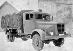 Bussing-Nag A and - German heavy trucks - case report Army Vehicles, Armored Vehicles, Truck Transport, Afrika Korps, Steyr, Heavy Truck, Military Diorama, Four Wheel Drive, 4x4 Trucks