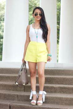 Lime Green and Turquoise