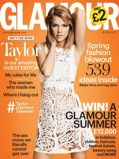 Taylor Swift for Glamour UK