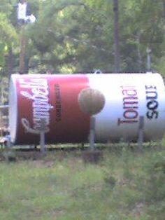 Propane Tank at Johnson's Ranch