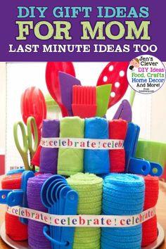 Birthday crafts for kids handmade gifts ideas Diy Gifts For Mom, Easy Diy Gifts, Homemade Gifts, Cool Gifts, Creative Gifts, Best Gifts, Kids Gifts, Creative Ideas, Unique Gifts