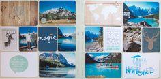 Travel album | Lake Louise by *paperandglue* at @Studio_Calico