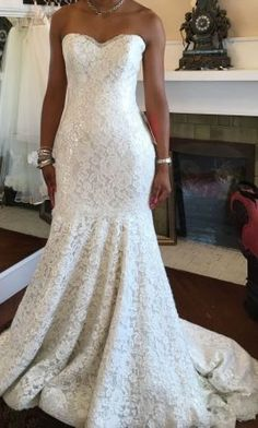 Essense of Australia D1521: buy this dress for a fraction of the salon price on PreOwnedWeddingDresses.com