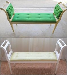 Centsational Girl » Blog Archive » DIY: Tufted Bench Transformation