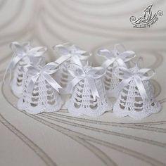 Sada zvončekov biela / MoniG - SAShE.sk - Handmade Dekorácie