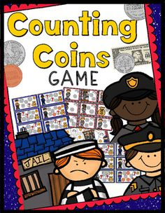 Counting Coins Game - 30 Task Cards