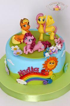 Torturi - Viorica's cakes: Tort Little Pony pentru Nadia