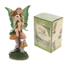 Lisa Parker - Emerald Prophecy Fairy Figurine/ornament - Tales of Avalon