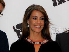 Princess Marie attended the Copenhagen Jewellery & Watch Show August 24, 2014