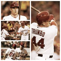 Mark trumbo :) love my angels