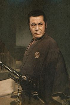 Toshirou [Toshiro Mifune Toshirō Mifune, CUT-1000-054 the last Samurai - coming…