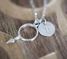 Gift for men Personalized Necklace Sterling by HandStampedbyJoanna, $29.50