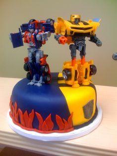 Resultado de imagen para torta trnsformer optimos esprain