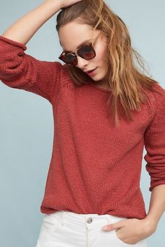 Collins Bell-Sleeved Pullover