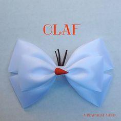 ~ Olaf Frozen Hair Bow ~