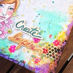 Video tutorial Art Book with Wilma, Art Book from Bloom Collection by @primamarketing