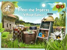 Meet the Insects, Village edition - Top 5 Children's Apps, according to Mashable 4th Grade Science, Best Apps, Kids Learning, Insects, Meet, Fun Apps, Grade 2, Tools