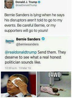 Feel the fucking Bern, bitch!!