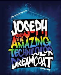 Image result for joseph and his amazing technicolour dreamcoat programme