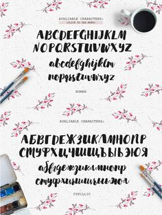 Markella Awesome Font by Katsia Jazwinska on @creativemarket