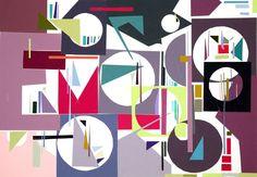 Einkaufsbummel. Collage mit Coloraid Farbpapieren ©Art-i.de 2016