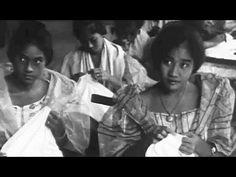"""Piña: """"Luzon Lingerie"""" circa 1918 Filmo; Pineapple Fiber & Silk Fabrics in Manila, Philippines"""
