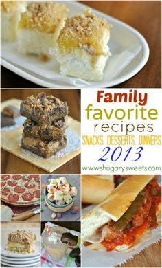 """Best of"" Shugary Sweets 2013- Family Favorites - Shugary Sweets"