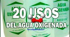 20 utilidades o usos del agua oxigenada en el hogar y en las personas, como limpiezas bucales, limpieza de heridas y labores domésticas.