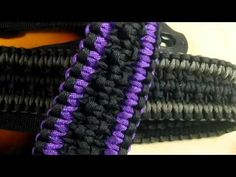 Rock Paracord - Triple Cobra Guitar Strap (Rock Weave) - YouTube
