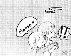 Day 2 Cuddling somewhere version Sabriel by ~Nile-kun on deviantART