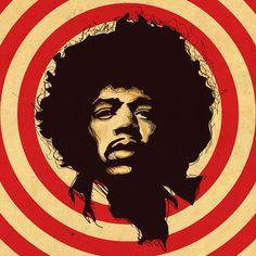 Hendrix   - Possibly incorporate this into a cockatail with Hendricks gin - get staffies to wear afros when serving.