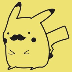 Pikachu Moustache Smosh Shirt T-Shirts | by theillestbrew