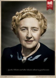 Author Agatha Christie