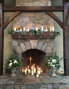 50 Wedding Fireplace Decor Ideas   HappyWedd.com