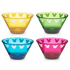 Color Fusion Mickey Mouse Bowl Set -- 4-Pc. 12.95
