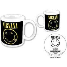 ICYMI: Tazza Smiley [Import anglais]: Band : Nirvana Product : Mug Design : Smiley