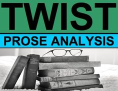 FREE 6-12 TWIST mnemonic device to have students analyze tone, word choice, imagery and details, style and theme in ANY work of fiction or nonfiction prose.