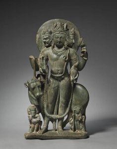 Shiva Mahadeva Northern India, Kashmir 8th century Schist Source: The Cleveland Museum of Art