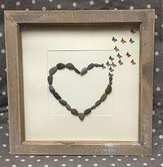 Anniversary gift for Girlfriend Heart frame Wedding