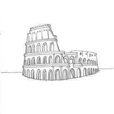 Ancient - Day 23 #Inktober . . . #inktoberday23 #colloseum #inktoberancient #rome #art #artwork #artistsoninstagram #inktober2019… Rome Art, Inktober, Chevrolet Logo, Logos, Artist, Artwork, Accessories, Instagram, Work Of Art