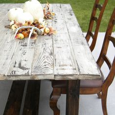 How to make new wood look old and weathered