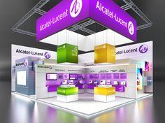 Alcatel Lucent Exhibition Stnad by IGOR IASTREBOV at Coroflot.com