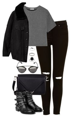 """Untitled #4893"" by eleanorsclosettt ❤ liked on Polyvore featuring T By Alexander Wang, Acne Studios, Alexander Wang, MANGO, Christian Dior and Miss Selfridge"