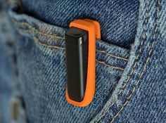 Pocket Clip for Fitbit Flex by TomBot