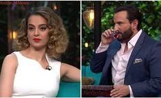Koffee With Karan: Saif Ali Khan cheated on his partner, Kangana Ranaut is jealous of Aamir Khan